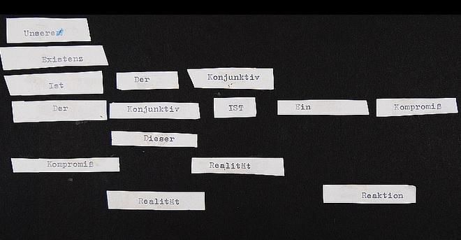 Fragment vom Wort Appell-3