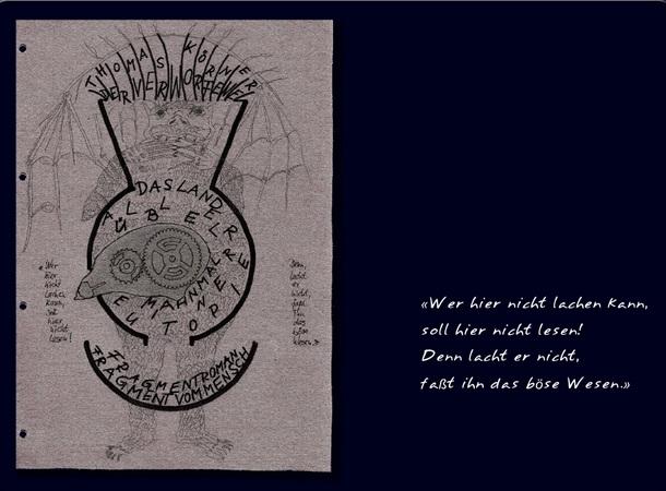 Schnitzler als Eingang zum Fragment vom Mensch
